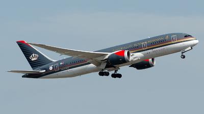 JY-BAC - Boeing 787-8 Dreamliner - Royal Jordanian