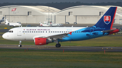 OM-BYA - Airbus A319-115X(CJ) - Slovakia - Government Flying Service