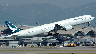 B-HNW - Boeing 777-31H - Cathay Pacific Airways