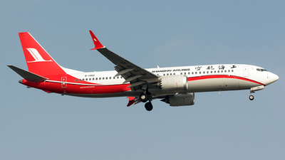 B-1382 - Boeing 737-8 MAX - Shanghai Airlines