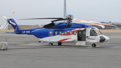 LN-ONR - Sikorsky S-92A Helibus - Bristow Helicopters