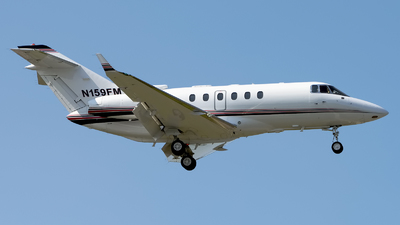 N159FM - Raytheon Hawker 800XP - Private