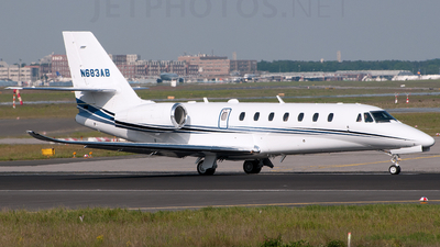 N683AB - Cessna 680 Citation Sovereign - Private