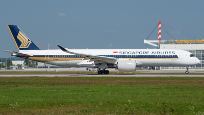 9V-SMB - Airbus A350-941 - Singapore Airlines