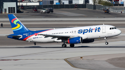 N608NK - Airbus A320-232 - Spirit Airlines