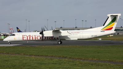 A picture of ETAXX - De Havilland Canada Dash 8400 - Ethiopian Airlines - © PAUL QUINN