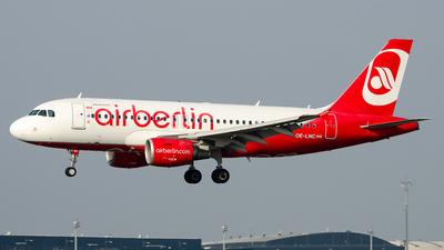OE-LNC - Airbus A319-112 - Air Berlin (Niki)
