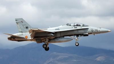 CE.15-12 - McDonnell Douglas EF-18BM Hornet - Spain - Air Force