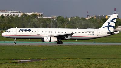 SX-DGS - Airbus A321-231 - Aegean Airlines