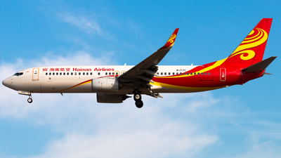A picture of B7171 - Boeing 73786N - Hainan Airlines - © Meng