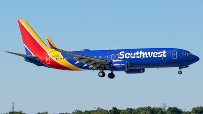 A picture of N8685B - Boeing 7378H4 - Southwest Airlines - © Evan Dougherty