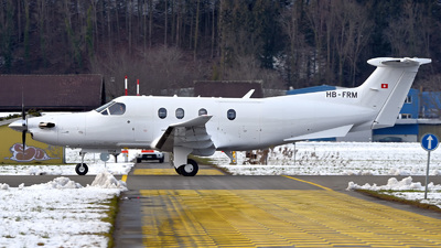 A picture of HBFRM - Pilatus PC12/47E - Pilatus Flugzeugwerke - © Mirko Bleuer