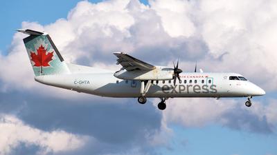 A picture of CGHTA - De Havilland Canada Dash 8300 - Air Canada - © northstardc4m