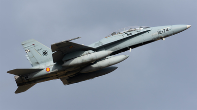 CE.15-11 - McDonnell Douglas EF-18BM Hornet - Spain - Air Force