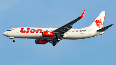 PK-LOR - Boeing 737-8GP - Lion Airlines