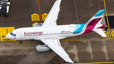 A picture of DAGWD - Airbus A319132 - Eurowings - © Markus Altmann