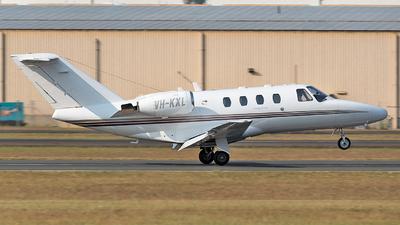 VH-KXL - Cessna 525 CitationJet 1 - Private