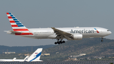 A picture of N777AN - Boeing 777223(ER) - American Airlines - © EFS.PAN