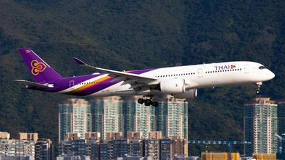 HS-THG - Airbus A350-941 - Thai Airways International