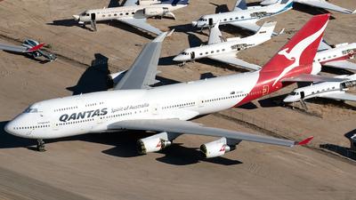 A picture of VHOEJ - Boeing 747438(ER) - [32914] - © Alejandro Hndez