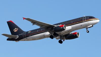 JY-AYU - Airbus A320-232 - Royal Jordanian