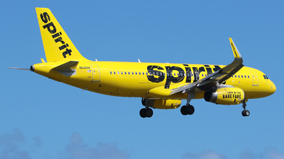 A picture of N646NK - Airbus A320232 - Spirit Airlines - © Angel Natal