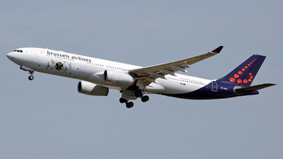 OO-SFX - Airbus A330-343 - Brussels Airlines