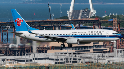 A picture of B5760 - Boeing 73781B - China Southern Airlines - © AndySpotter