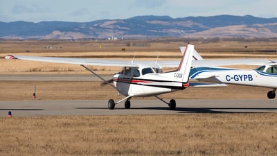 C-GXUV - Cessna 172N Skyhawk - Springbank Air Training College