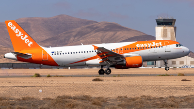 A picture of GEZTY - Airbus A320214 - easyJet - © Pedro Lopez Batista.