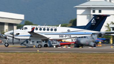 9M-PTB - Beechcraft B300 King Air 350 - Malaysia - Police