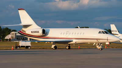 A picture of N268QS - Dassault Falcon 2000 - NetJets - © SpotterPowwwiii