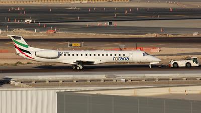 A picture of A6RRB - Embraer ERJ145MP - Rotana Jet - © Christian Weber