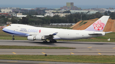 B-18720 - Boeing 747-409F(SCD) - China Airlines Cargo