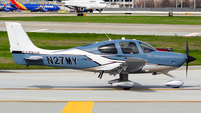A picture of N27MY - Cirrus SR22T - [1787] - © Nicholas Hesler