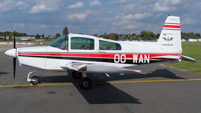 OO-WAN - Grumman American AA-5 Traveler - Kortrijk Flying Club