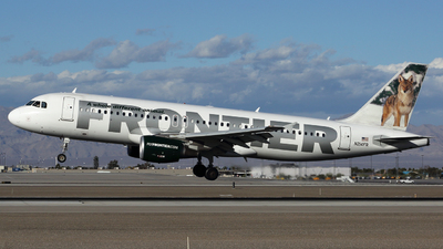 N214FR - Airbus A320-214 - Frontier Airlines