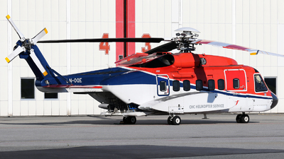 A picture of LNOQE - Sikorsky S92A - CHC Helikopter Service - © Rrimestad