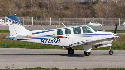 N225CR - Beechcraft B36TC Bonanza - Private