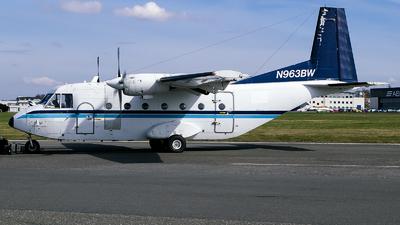 N963BW - CASA C-212-CC Aviocar - Blackwater Aviation