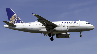 A picture of N4888U - Airbus A319132 - United Airlines - © Kerrigan_Aviation_NJ
