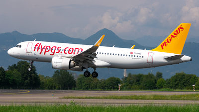 A picture of TCNBZ - Airbus A320251N - Pegasus Airlines - © Chiodini Luca