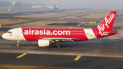 A picture of VTBOM - Airbus A320214 - AirAsia - © Akshay M
