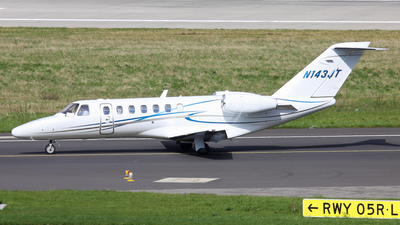 N143JT - Cessna 525B CitationJet 3 - Private