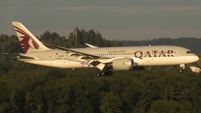 A7-BDD - Boeing 787-8 Dreamliner - Qatar Airways