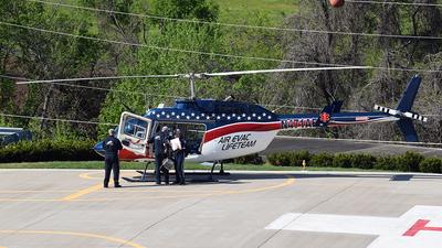 A picture of N471AE - Bell 206L4 LongRanger IV - [52466] - © spkerstiens