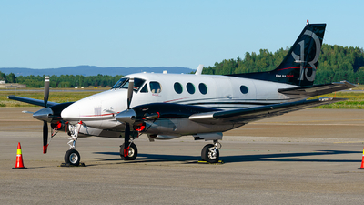 OY-JJT - Beechcraft C90 King Air - COWI Aerial Survey
