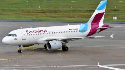 D-ABGS - Airbus A319-112 - Eurowings (Air Berlin)