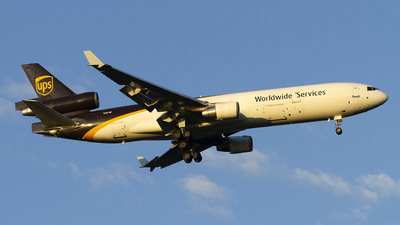 A picture of N281UP - McDonnell Douglas MD11F - UPS - © Jeremy D. Dando