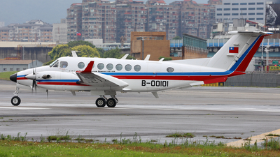 B-00101 - Beechcraft B300 King Air 350 - Taiwan - Civil Aeronautics Administration